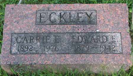 ECKLEY, CARRIE E. - Burt County, Nebraska   CARRIE E. ECKLEY - Nebraska Gravestone Photos