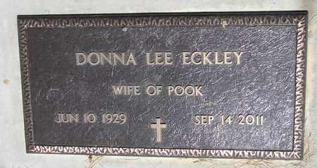 ECKLEY, DONNA LEE - Burt County, Nebraska   DONNA LEE ECKLEY - Nebraska Gravestone Photos