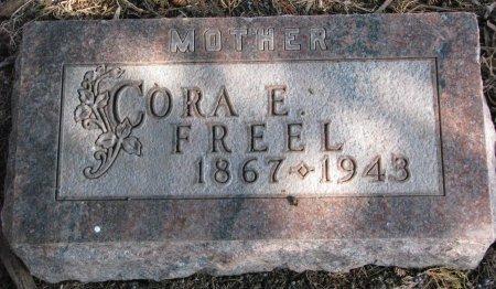 FREEL, CORA E. - Burt County, Nebraska | CORA E. FREEL - Nebraska Gravestone Photos