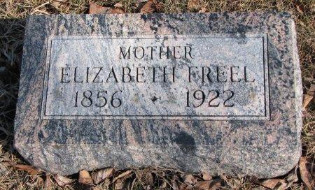 FREEL, ELIZABETH - Burt County, Nebraska   ELIZABETH FREEL - Nebraska Gravestone Photos