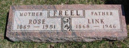 "FREEL, ABRAHAM LINCOLN ""LINK"" - Burt County, Nebraska | ABRAHAM LINCOLN ""LINK"" FREEL - Nebraska Gravestone Photos"