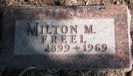 FREEL, MILTON M. - Burt County, Nebraska   MILTON M. FREEL - Nebraska Gravestone Photos