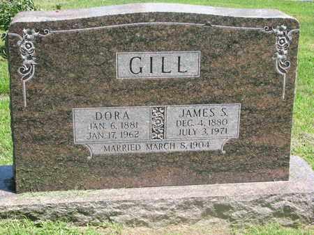 GILL, JAMES S. - Burt County, Nebraska   JAMES S. GILL - Nebraska Gravestone Photos