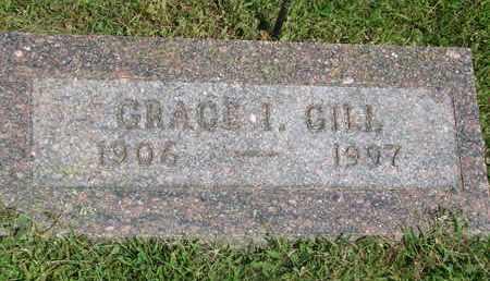GILL, GRACE I. - Burt County, Nebraska | GRACE I. GILL - Nebraska Gravestone Photos