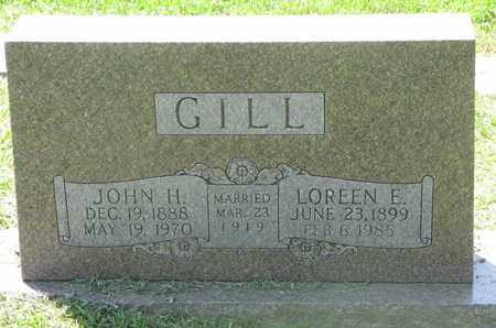 GILL, LOREEN E. - Burt County, Nebraska | LOREEN E. GILL - Nebraska Gravestone Photos