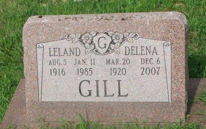 GILL, LELAND - Burt County, Nebraska | LELAND GILL - Nebraska Gravestone Photos
