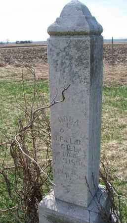 GILL, NORA L. - Burt County, Nebraska | NORA L. GILL - Nebraska Gravestone Photos