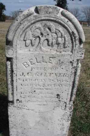 GILTNER, BELLE M. - Burt County, Nebraska | BELLE M. GILTNER - Nebraska Gravestone Photos