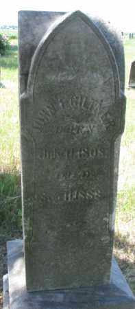 GILTNER, JOHN F. - Burt County, Nebraska | JOHN F. GILTNER - Nebraska Gravestone Photos