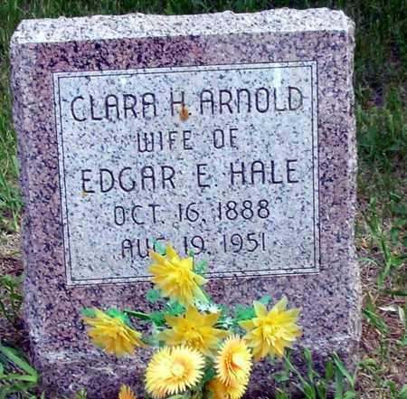 ARNOLD HALE, CLARA H. - Burt County, Nebraska   CLARA H. ARNOLD HALE - Nebraska Gravestone Photos