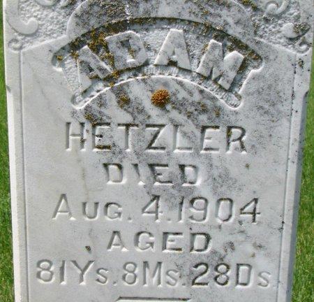 HETZLER, ADAM (CLOSE UP) - Burt County, Nebraska | ADAM (CLOSE UP) HETZLER - Nebraska Gravestone Photos