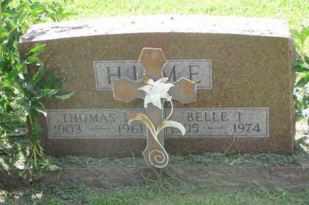 HUME, THOMAS L. - Burt County, Nebraska   THOMAS L. HUME - Nebraska Gravestone Photos