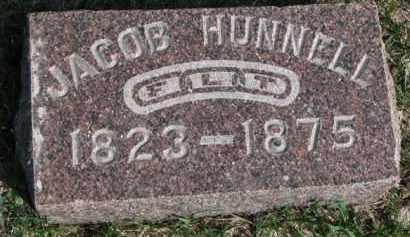 HUNNELL, JACOB - Burt County, Nebraska | JACOB HUNNELL - Nebraska Gravestone Photos
