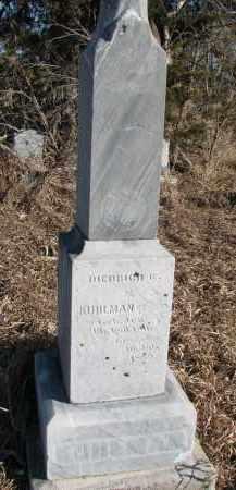 KUHLMAN, DIEDRICH G. - Burt County, Nebraska   DIEDRICH G. KUHLMAN - Nebraska Gravestone Photos