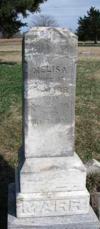 MARR, MELISA - Burt County, Nebraska   MELISA MARR - Nebraska Gravestone Photos