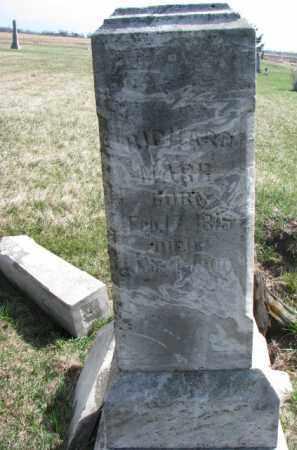 MARR, RICHARD - Burt County, Nebraska | RICHARD MARR - Nebraska Gravestone Photos