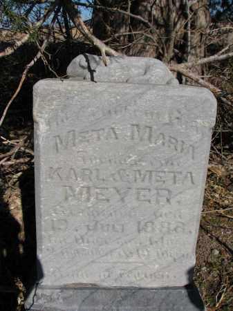 MEYER, META MARIA - Burt County, Nebraska | META MARIA MEYER - Nebraska Gravestone Photos