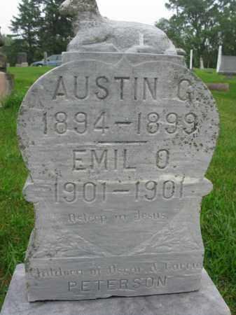 PETERSON, AUSTIN G. - Burt County, Nebraska | AUSTIN G. PETERSON - Nebraska Gravestone Photos