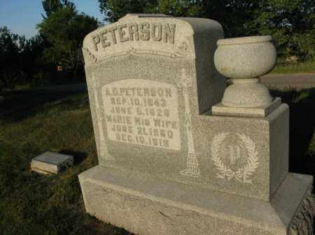 PETERSON, A.G. - Burt County, Nebraska | A.G. PETERSON - Nebraska Gravestone Photos