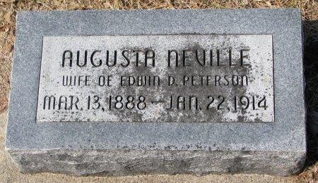 PETERSON, AUGUSTA  - Burt County, Nebraska | AUGUSTA  PETERSON - Nebraska Gravestone Photos