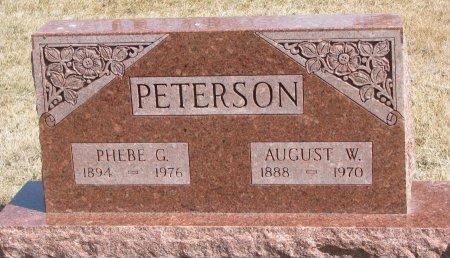 PETERSON, PHEBE MARGARET - Burt County, Nebraska | PHEBE MARGARET PETERSON - Nebraska Gravestone Photos