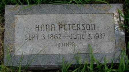 PETERSON, ANNA - Burt County, Nebraska | ANNA PETERSON - Nebraska Gravestone Photos