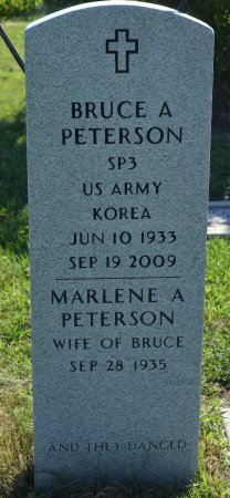 PETERSON, BRUCE A. - Burt County, Nebraska   BRUCE A. PETERSON - Nebraska Gravestone Photos