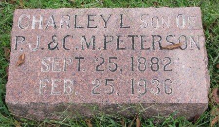 PETERSON, CHARLEY L. - Burt County, Nebraska | CHARLEY L. PETERSON - Nebraska Gravestone Photos