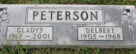 PETERSON, GLADYS - Burt County, Nebraska | GLADYS PETERSON - Nebraska Gravestone Photos