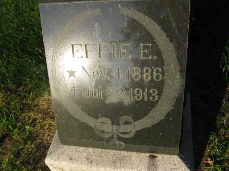 PETERSON, EFFIE E. - Burt County, Nebraska | EFFIE E. PETERSON - Nebraska Gravestone Photos