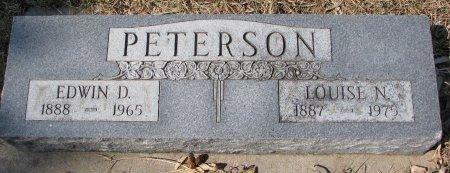PETERSON, EDWIN D. - Burt County, Nebraska | EDWIN D. PETERSON - Nebraska Gravestone Photos
