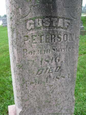 PETERSON, GUSTAF - Burt County, Nebraska | GUSTAF PETERSON - Nebraska Gravestone Photos