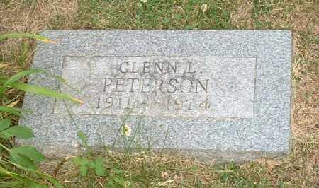 PETERSON, GLENN L. - Burt County, Nebraska | GLENN L. PETERSON - Nebraska Gravestone Photos