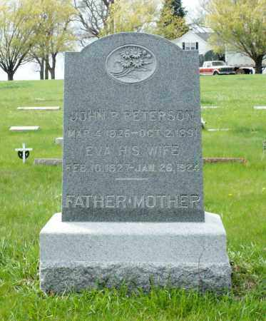 PETERSON, JOHN P. - Burt County, Nebraska | JOHN P. PETERSON - Nebraska Gravestone Photos