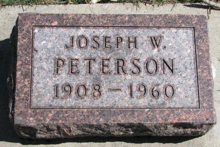 PETERSON, JOSEPH W. - Burt County, Nebraska | JOSEPH W. PETERSON - Nebraska Gravestone Photos