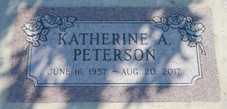 PETERSON, KATHERINE ANN - Burt County, Nebraska | KATHERINE ANN PETERSON - Nebraska Gravestone Photos