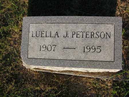 PETERSON, LUELLA J. - Burt County, Nebraska   LUELLA J. PETERSON - Nebraska Gravestone Photos