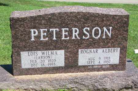 PETERSON, LOIS WILMA - Burt County, Nebraska | LOIS WILMA PETERSON - Nebraska Gravestone Photos