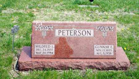 PETERSON, GUNNAR E. - Burt County, Nebraska | GUNNAR E. PETERSON - Nebraska Gravestone Photos