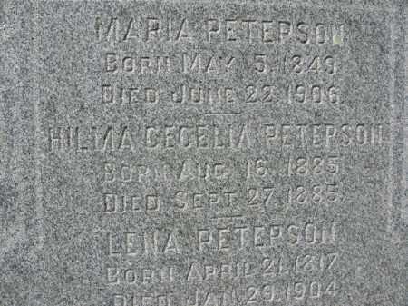 PETERSON, MARIA - Burt County, Nebraska | MARIA PETERSON - Nebraska Gravestone Photos
