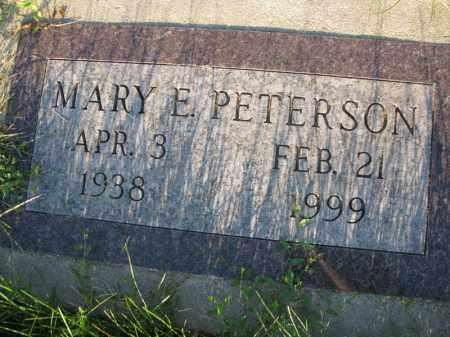 PETERSON, MARY E. - Burt County, Nebraska | MARY E. PETERSON - Nebraska Gravestone Photos