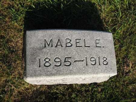 PETERSON, MABEL E. - Burt County, Nebraska | MABEL E. PETERSON - Nebraska Gravestone Photos