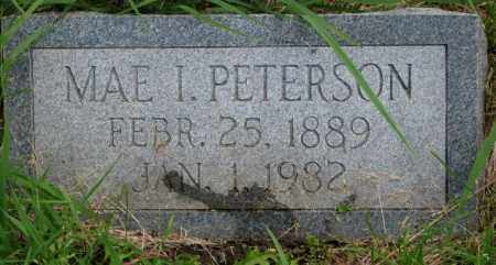 PETERSON, MAE I. - Burt County, Nebraska   MAE I. PETERSON - Nebraska Gravestone Photos