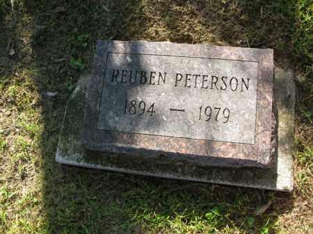 PETERSON, REUBEN - Burt County, Nebraska | REUBEN PETERSON - Nebraska Gravestone Photos