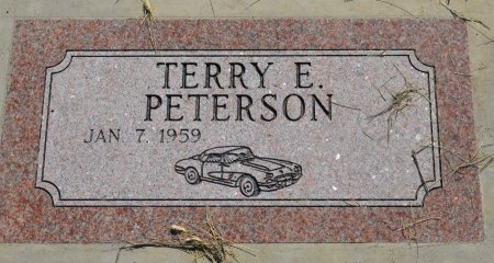 PETERSON, TERRY E. - Burt County, Nebraska | TERRY E. PETERSON - Nebraska Gravestone Photos