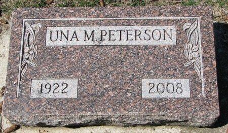 PETERSON, UNA M. - Burt County, Nebraska   UNA M. PETERSON - Nebraska Gravestone Photos