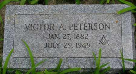 PETERSON, VICTOR A. - Burt County, Nebraska | VICTOR A. PETERSON - Nebraska Gravestone Photos