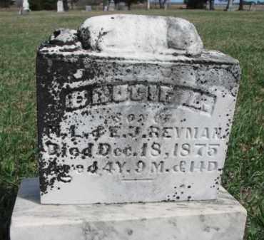 REYMAN, BRUCIE A. - Burt County, Nebraska   BRUCIE A. REYMAN - Nebraska Gravestone Photos