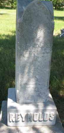 REYNOLDS, JOSEPH G. - Burt County, Nebraska | JOSEPH G. REYNOLDS - Nebraska Gravestone Photos