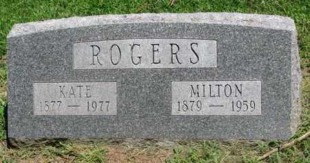 HURLOCKER ROGERS, KATE PEARL - Burt County, Nebraska | KATE PEARL HURLOCKER ROGERS - Nebraska Gravestone Photos